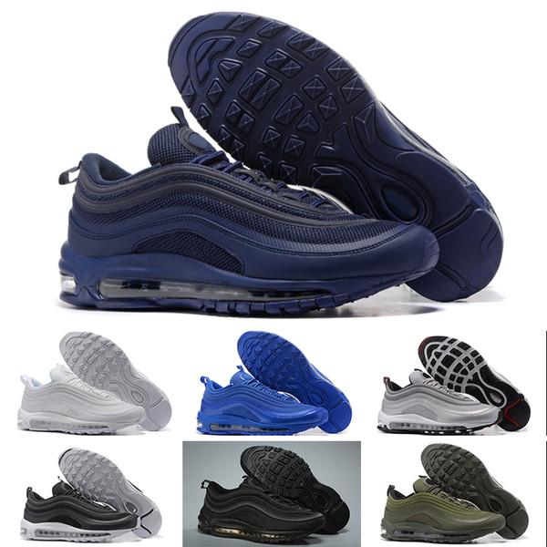 Acquista Nike Air Max 97 2018 Nuove Scarpe Da Corsa Scarpe Di Plastica Uomini Economici Formazione Outdoor Di Alta Qualità Mens Scarpe Da Ginnastica