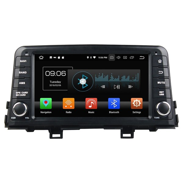 "4GB RAM 64GB ROM IPS PX5 1 din 8"" Android 8.0 Car DVD Audio Radio GPS for Kia Morning Picanto 2017 Bluetooth WIFI Steering wheel controls"