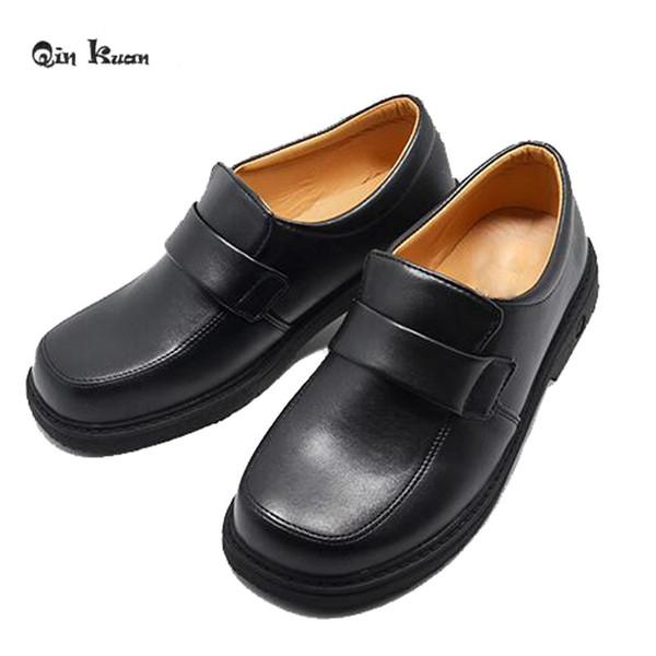 Qin Kuan Sweet Japanese School Uniform Shoes Round Toe Princess Lolita Shoes Cosplay Size 34-38