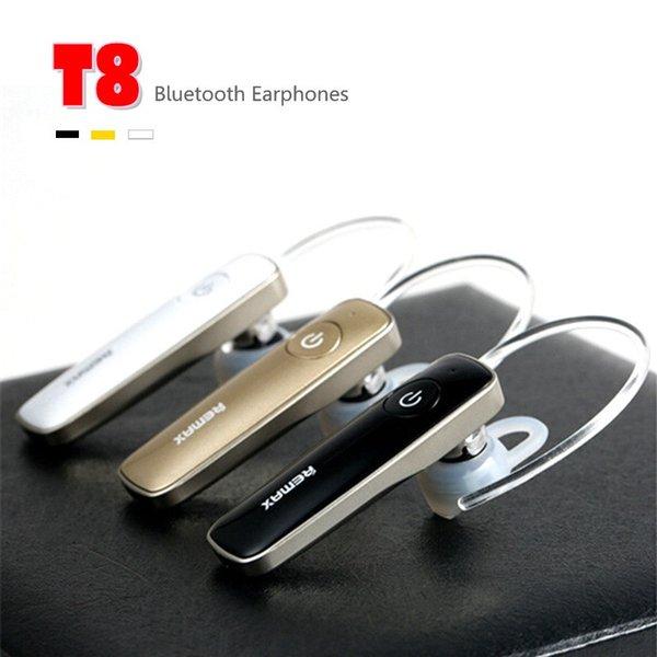 Remax T8 Bluetooth 4.1 Sport Cuffie Wireless Headset Cuffie auricolari sport esterni auricolari