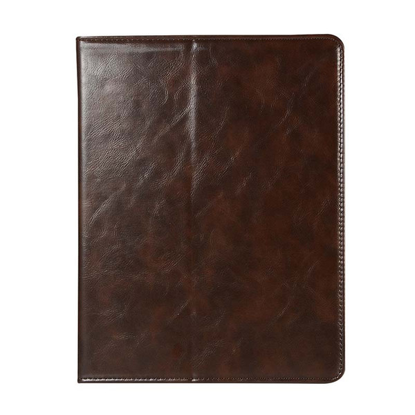 Classic Half Genuine Leather Tablet Case For ipad pro 11 inch ipad 5 6 AIR With Built-in Pen Slot PU Leather Case