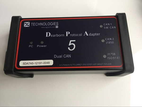CF-30 Laptop CF30 with heavy duty truck diagnostic scanner Dearborn Protocol Adapter 5 DPA5 Software Installed SSD/HDD