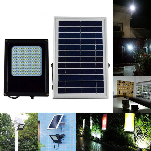 Umlight1688 15W 120 LED Solar Power Light Sensor Flood Spot Lamp Waterproof Outdoor Garden Yard Light Emergency Solar Lamp