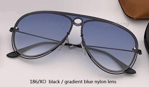 186 / XO nero / blu sfumato