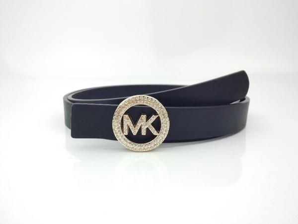 2019 design men and women design leather business buckle luxury belt black belt large gold female belt