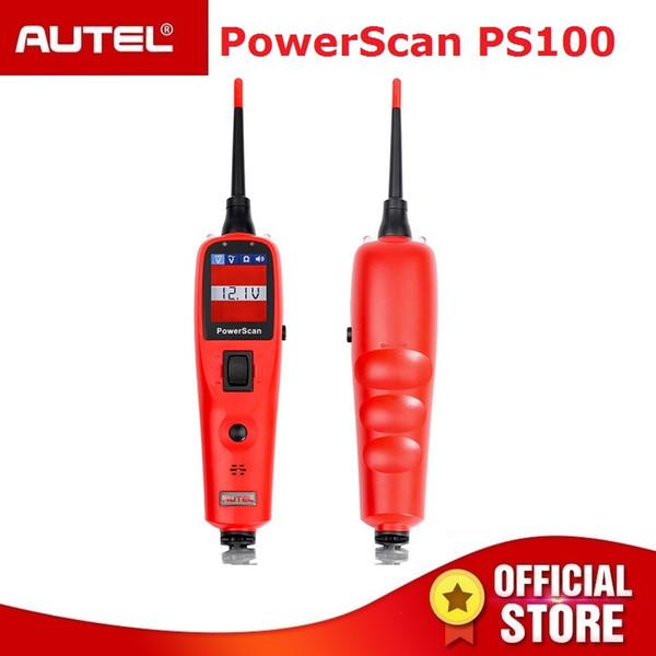 Autel PowerScan PS100 Electrical System Diagnostics Tool Autel PS100 Car Automotive OBD2 Scanner Car Auto Circuit Battery Tester
