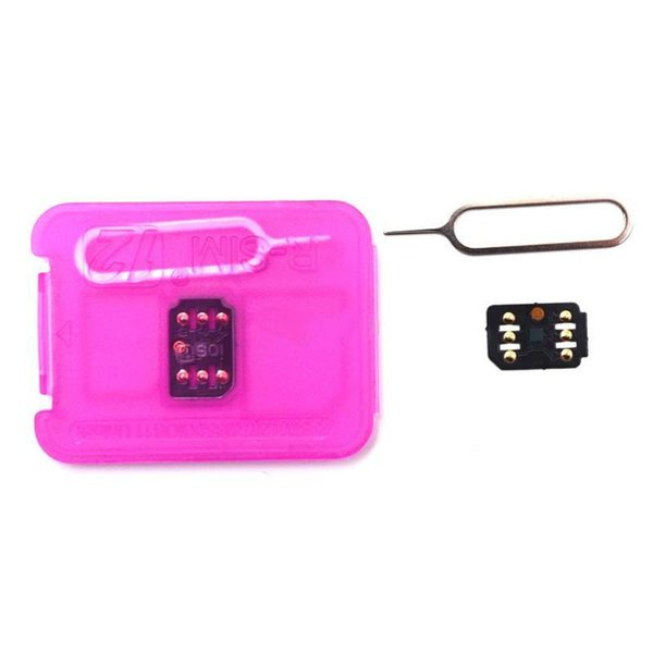 2019 New Original and brand new RSIM12 RSIM 12 unlocking card for iphone compatible with ALL IOS and model
