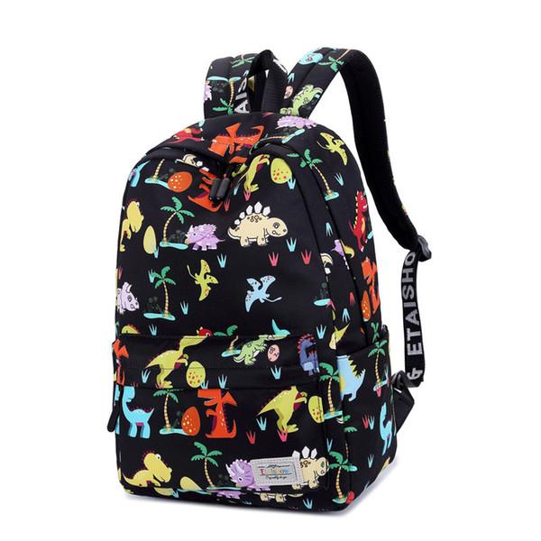 Cute Animal Digital printing Children Backpack For Boys Girls Kids Waterproof School Bag Casual Travel Satchel grade 1-3 mochila