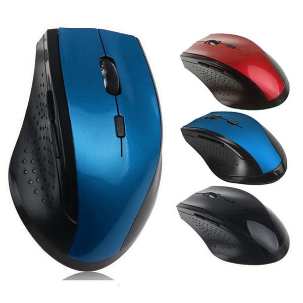 Hızlı Bilgisayar Dizüstü Aksesuar Yeni Varış için 2.4GHz Kablosuz Optik Gaming Mouse Oyun Fare Hareketli