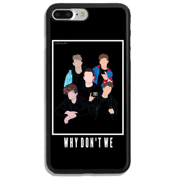 Why Dont We Band iphone case
