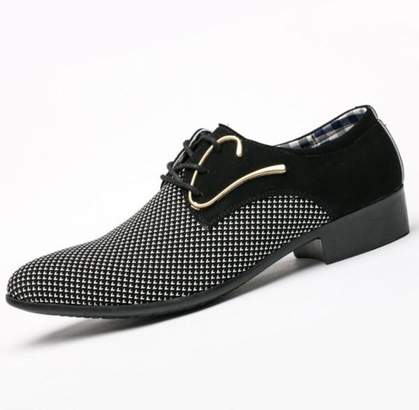 Mens primavera apartamentos italianos vestido shoes zapatos hombre vestir homens sapatos de casamento respirável chaussures de lona de couro formal