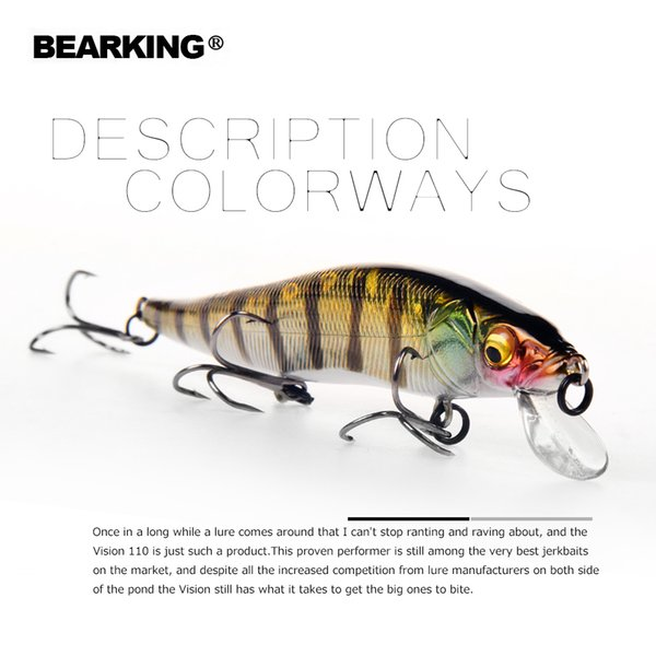 11cm 14g super weight system long casting New model fishing lures hard bait 2018 quality wobblers minnow