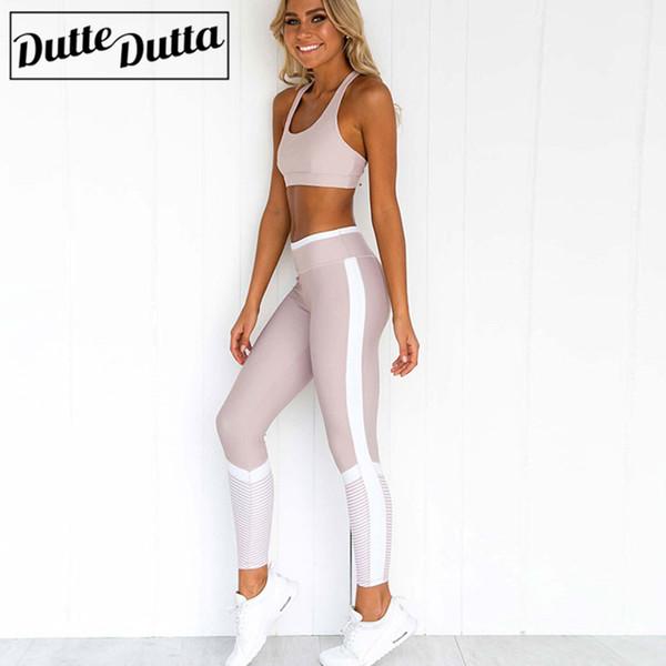 Monos Ropa deportiva de mujer para mujer Gimnasio Ropa de fitness Yoga Fitness Trajes deportivos Ropa de entrenamiento LeggingsBra Yoga Set