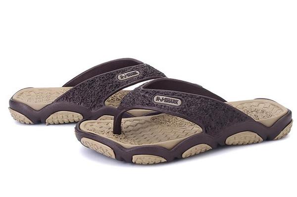 2019 summer Korean version of the men's personality flip-flops slip non-slip slippers beach shoes