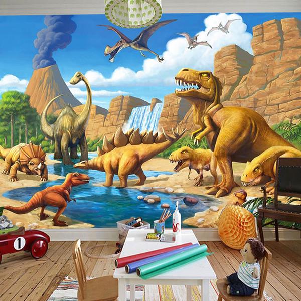 Custom 3d Cartoon Mural Wall Paper Children S Room Kindergarten