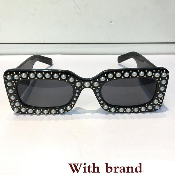 New sonnenbrille schwarz acetat platz rahmen mit beliebten s design rahmen beliebten uv-schutz sonnenbrille top qualität mode sommer stil