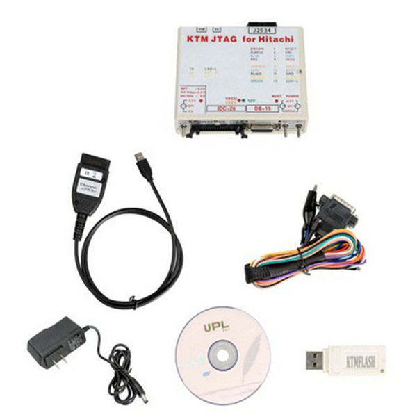 KTM-flash ECU Programmer Transmission Power Upgrade Tool with Dia-link J2534 Cable Support V-AG DQ200 DQ250 Infineon Bo-sch 271