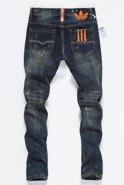 2019 nuovi uomini strappati Biker strappato Biker Slim Fit Biker Biker Denim per gli uomini Designer Hip Hop Mens Jeans di buona qualità