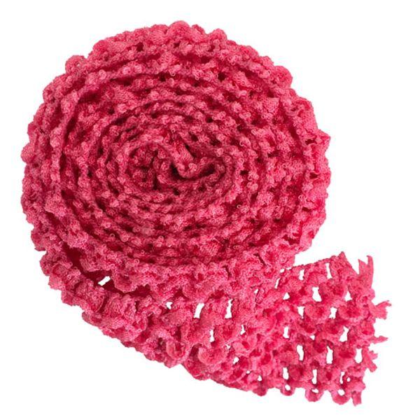 로즈 핑크 머리띠 손질