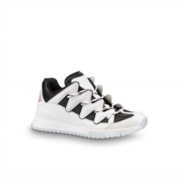 Arrival New Digital Exclusive Zigzag Sneakers Red Bottoms, Flexible Rubber Sole And Chuncy Style Unisex Designed Running Shoes