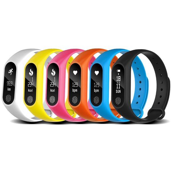 M2 Monitor de Freqüência Cardíaca Pulseira Inteligente bluetooth Smartband Saúde Rastreador De Fitness Banda Inteligente Pulseira para Android iOS