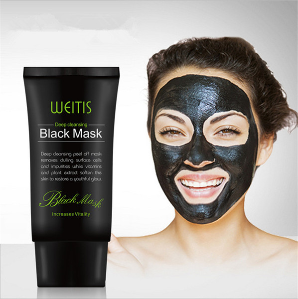 WEITIS Black Mask Peel Off Bamboo Charcoal Purifying Blackhead Remover Mask Deep Cleansing for AcneScars Blemishes Wrinkles Facial