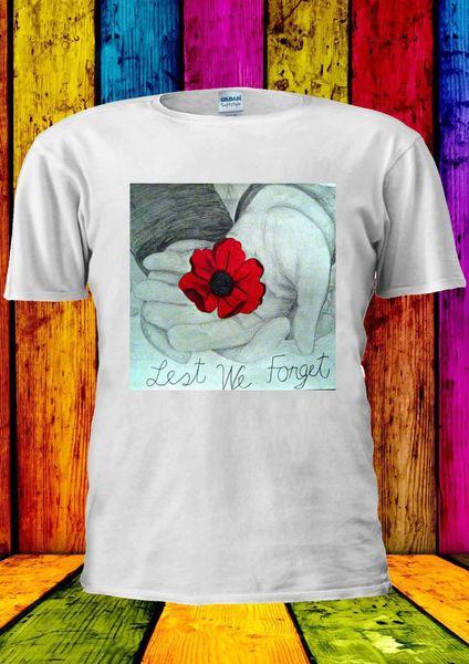 Poppy Day Remembrance Exército Britânico T-shirt Colete Regata Das Mulheres Dos Homens Unisex 2184 2018 Engraçado Tee, bonito T shirts Homem, 100% Algodão Legal,