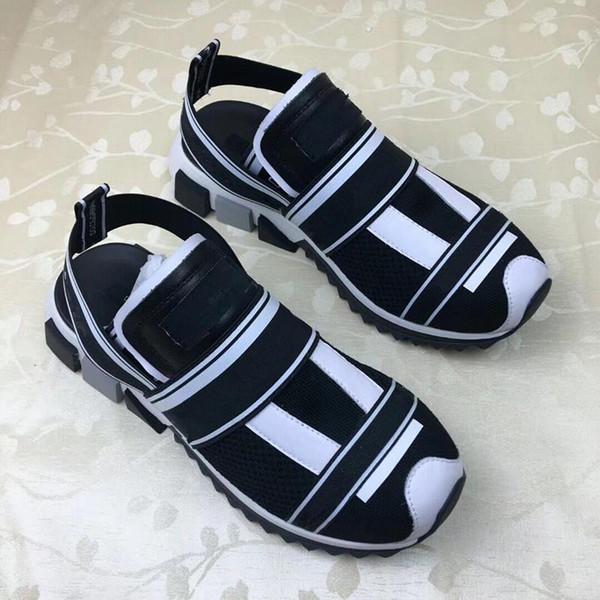 2019 nuova versione coreana dei selvaggi semplici studenti retrò sandali di scarpe romane ulzzang stile Harajuku per uomo e donna vy89601