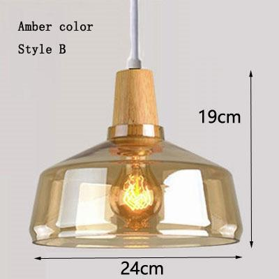 Amber color & style B