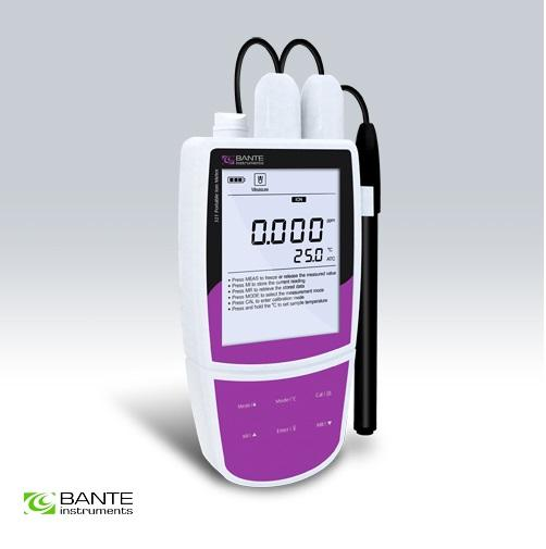 Brand BANTE Portable Ammonia Ion Meter Tester Analyzer handheld NH3 USB to PC data store high quality