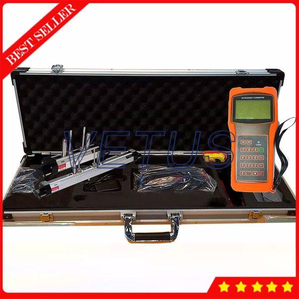 Ultrasonic Flow Meter TUF-2000H DN15-300mm HS-HT HM-HT Mounting Bracket Transducer Digital Liquid Flowmeter