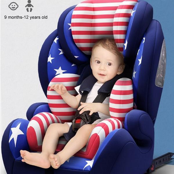 Safety Car Seggiolino da 9 Mesi-12 anni auto universale Bambini di protezione del sedile Con morbida connettore Bambino