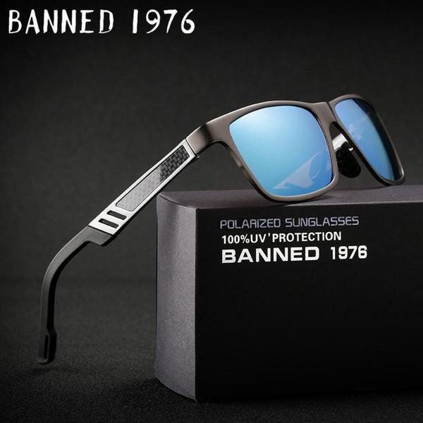 2018. Алюминий магниевый Мужчины женщины солнцезащитные очки HD поляризованные зеркало металлические солнечные очки Муж вождения оттенки очки холодные оттенки D18101302