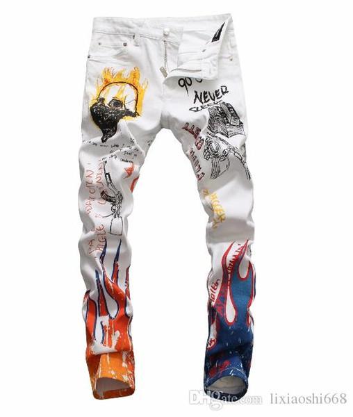 Estate 2019 jeans da uomo all'ingrosso, produzione europea di jeans di buona qualità per uomo, benvenuti nella taglia 28-38: 44-54 003