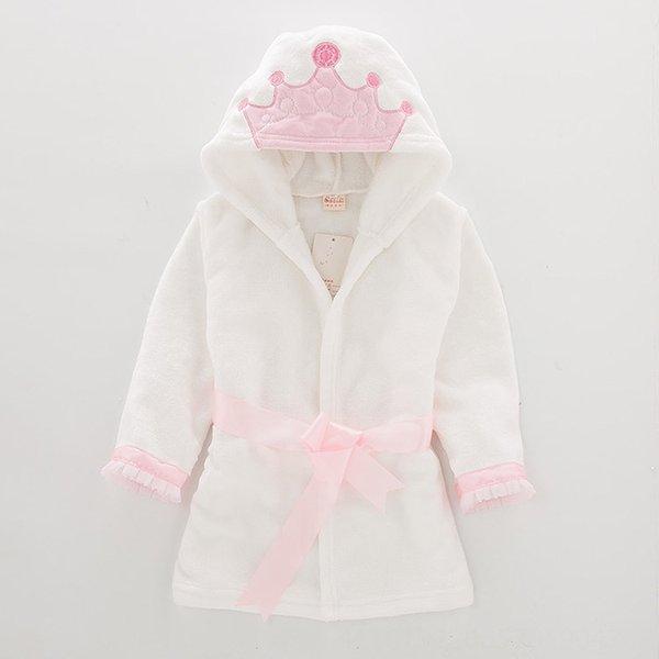 Pink white crown