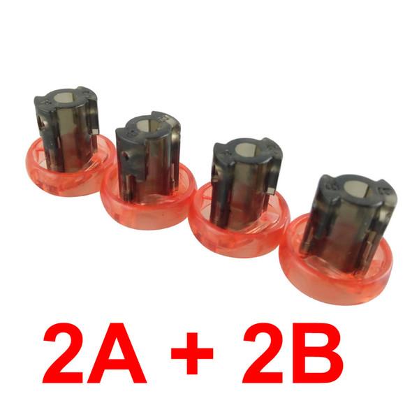 1 Set eixo principal seleeve (2A + 2B))