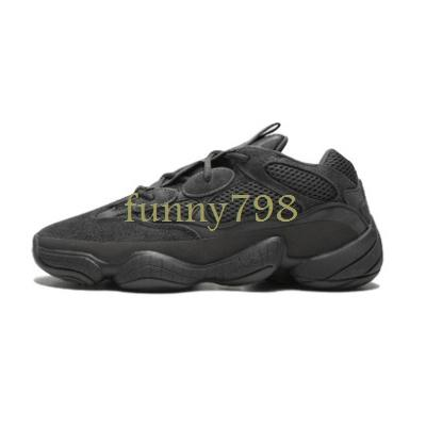 2019 top Salt 500 Kanye West Running Shoes Super Moon Yellow Blush Desert Rat 500 Men Sport luxury designer Sneakers womens Casual Shoes48