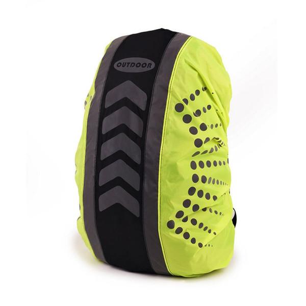 Sac à dos imperméable à l'eau couvrant la couverture anti-poussière de sac à dos d'escalade réfléchissant imperméable