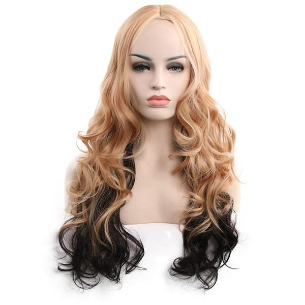 WoodFedfdsfsdf blasdf32rck2ew wodf3men natural cheap synthetic hair wigs straight 35cm black wig bangs heat resistan223t fiber
