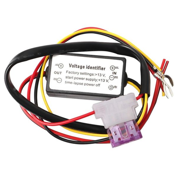 DRL Controller Car Auto LED Daytime Running Light 12-18V Fendinebbia Controller Relay Harness Dimmer Accessori per auto