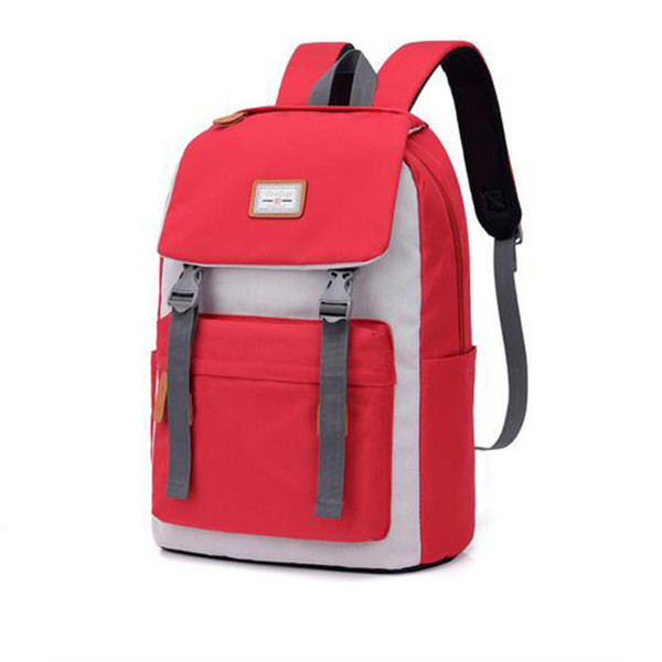 School Backpacks Stitching Backpack Men Women Couple Backpack College Student Middle School Bags Laptop Bag MochilaFJDFJFD