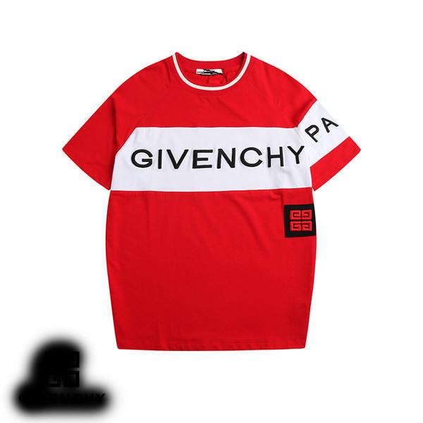 2019ss neue heiße T-Shirts für Herren Designer Shirt Herren Sommer Kurzarm-Shirt T-shirtmen T-Shirt M-3XL Größe T-shi