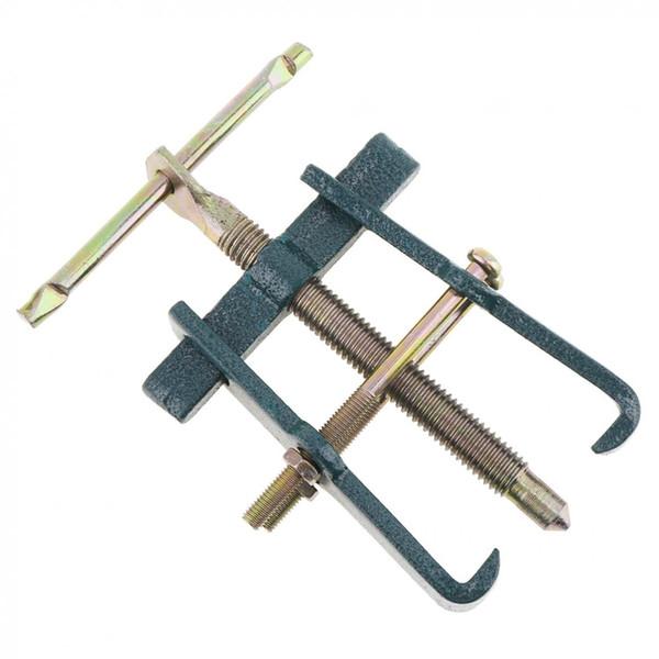 Práctico Tirador de dos garras de 3 pulgadas Dispositivo de elevación separado Tirador multiusos Fortalecimiento del rodamiento Rama para mecánico de automóviles Herramientas manuales