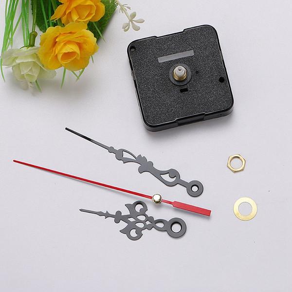 Quartz Clock Movement Mechanism Long Spindle Red Hands Repair DIY Kit Set Hot Selling Hands Repair SSA201