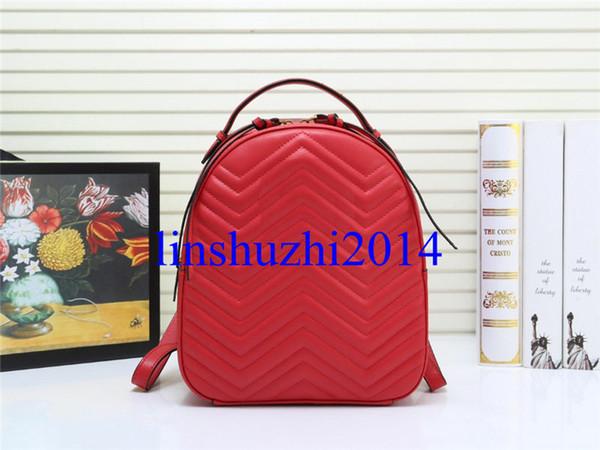 best selling High Quality Luxury Designer Backpacks Women Fashion Genuine Leather Bag Lady Fashion Women School Bags
