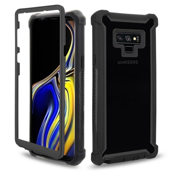 Urban Doom Armor Protection PC TPU Phone Case for Samsung Galaxy S10 S9 S8 Plus Note 8 9 S10e Office Heavy Duty Shockproof Cover