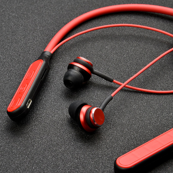 Sports Wireless Headphones Best Bluetooth Headset with Noise Cancelling