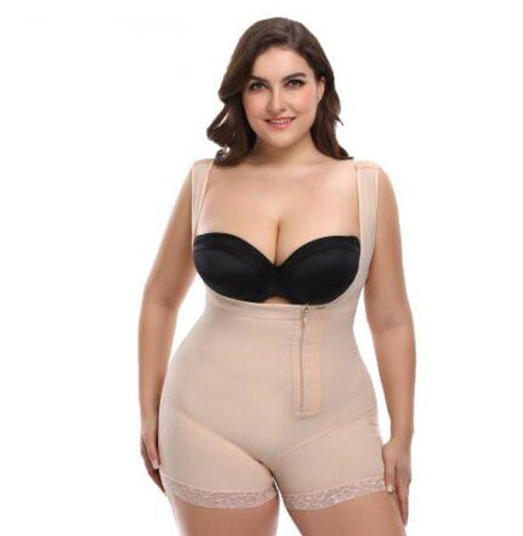 Femmes shapewear Sous-vêtements Bodys Bandage Shaper Corset corps shaper taille formateur Control Pants avec haute qualité