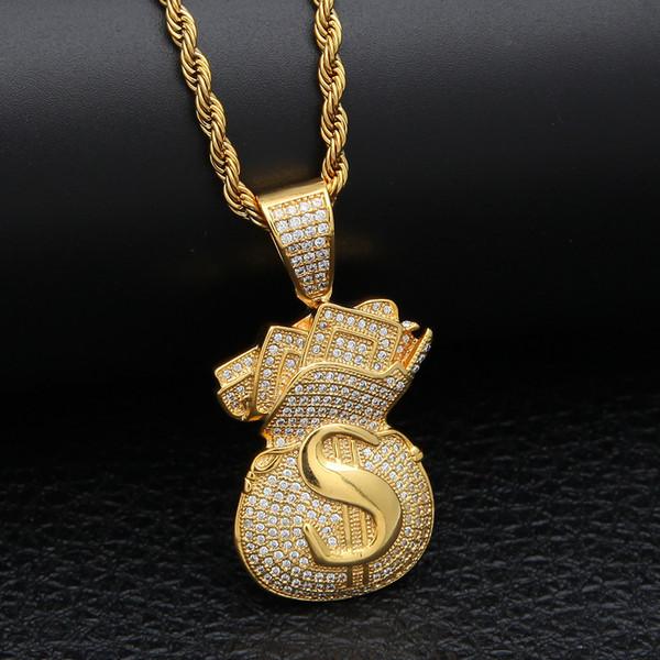 Gold + 3mm 24inch Chain