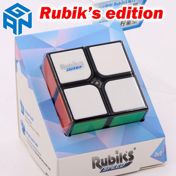 Quebra-cabeça cubo mágico GAN 2x2x2 2 * 2 * 2 Speed Cube RSC nível de entrada fácil velocidade profissional cubo torção brinquedos educativos presente jogo de lógica